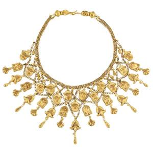 Lot-52-High-Karat-Gold-Bib-Necklace
